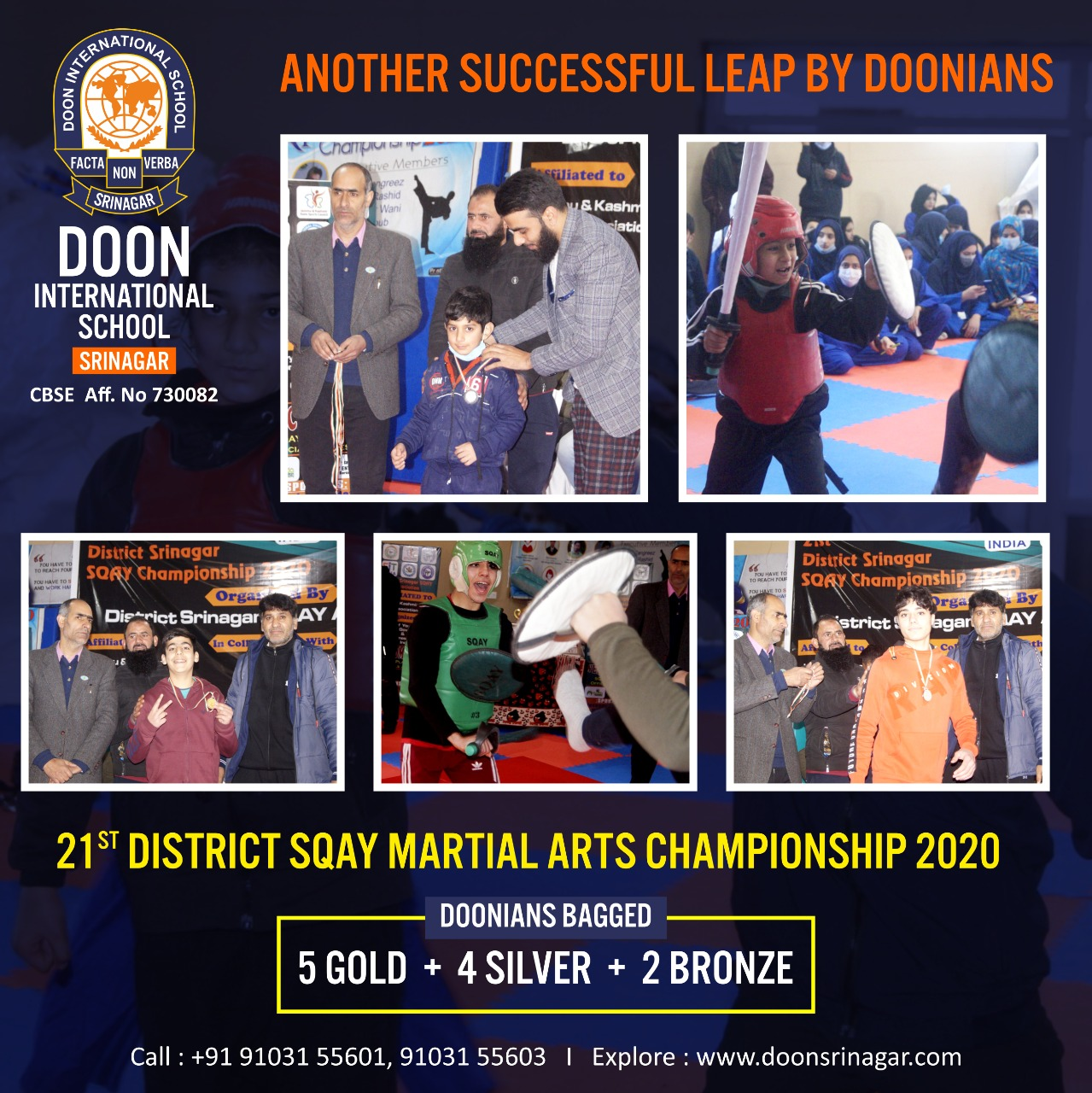 21st District SQAY Championship 2020
